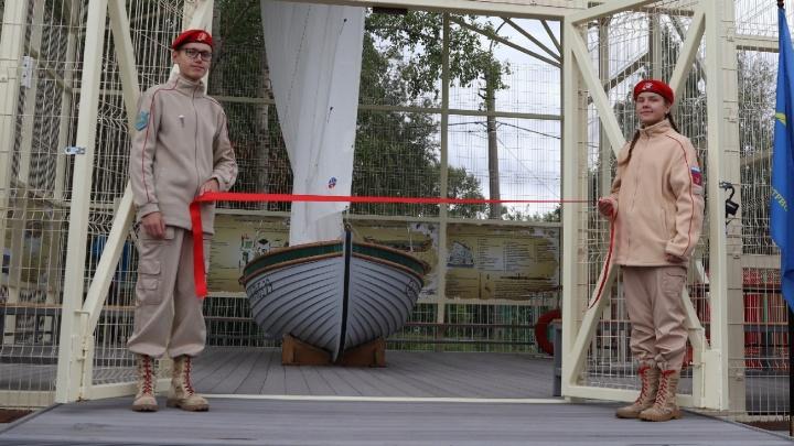 Архангельских детей будут обучать морским практикам на спасательной шлюпке Ял-6