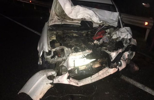 Десять человек пострадали в аварии на юге Красноярского края