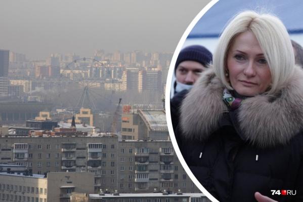 Виктория Абрамченко ознакомиться с экологическими проектами Челябинска приезжала в январе, но про город не забывает