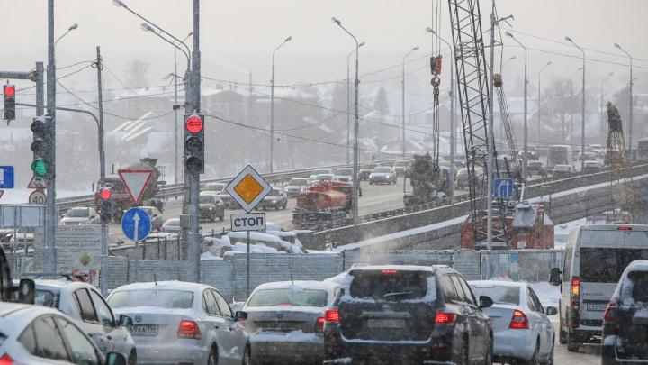 Власти пообещали сократить сроки ремонта развязки на Валиди — Юлаева в Уфе