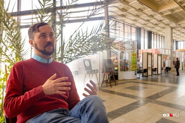 Андрей Кочетков занимает должность директора музея Алабина чуть больше месяца