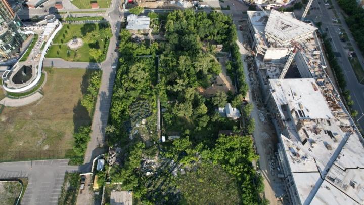 В мегаквартале небоскребов «Екатеринбург-Сити» предложили сделать центральный парк как в Нью-Йорке