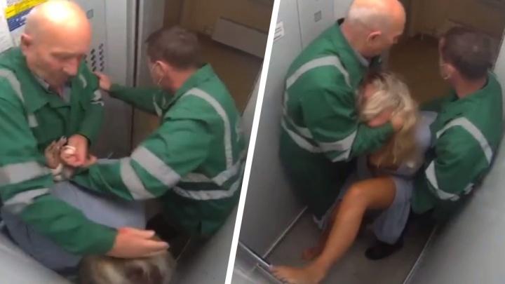 В Ярославле санитары, избившие женщину в лифте, не понесут за это наказания