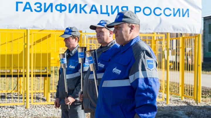 Поселок Петровский Новосибирской области подключен к газоснабжению