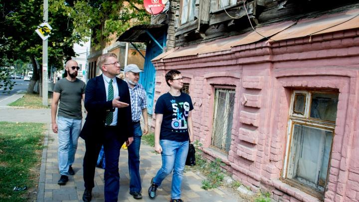 Председатель партии «Яблоко» вступился за исторические здания в центре Самары