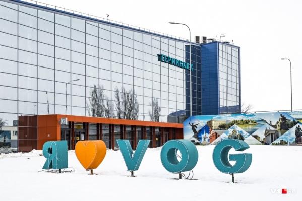 В воздушной гавани Волгограда задержались десятки человек