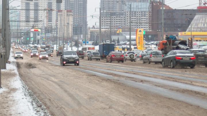 Стало известно, какой участок Московского шоссе отремонтируют в 2021 году