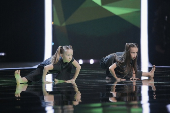 Девочки выступали в стиле experimental
