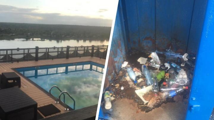 Португалец построил роскошную виллу под Минусинском, но жизнь подпортили придорожные туалеты