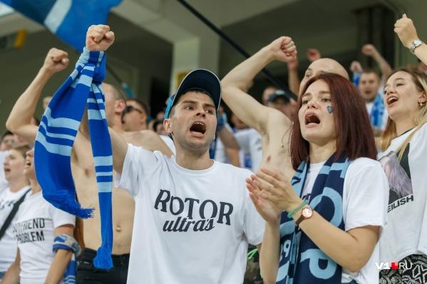 Волгоградцы, наконец, смогут посмотреть игру на стадионе
