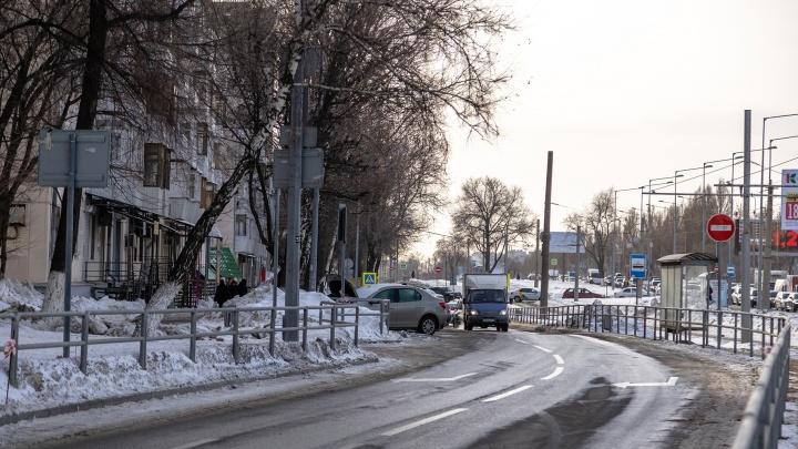 В Самаре из-за развязки на Ново-Садовой перекроют еще один дублер