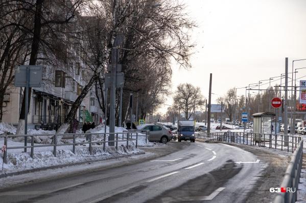 """Проехать по этой дороге будет нельзя <nobr class=""""_"""">с 18 февраля</nobr>"""