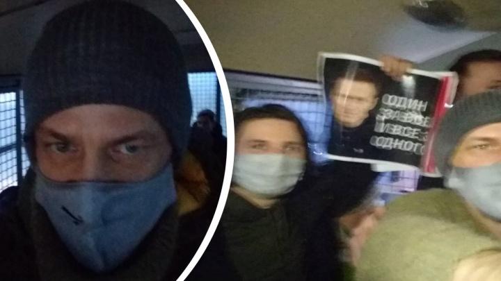 В Москве на протестной акции задержали уральского режиссера Василия Сигарева