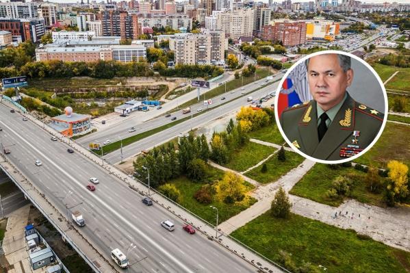 В четверг министр обороны прибыл в Новосибирск