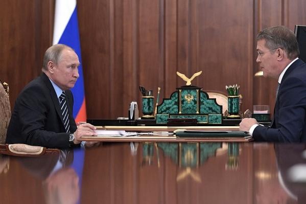 Поздравление Путина, как сообщили республиканские чиновники, адресовалось Хабирову