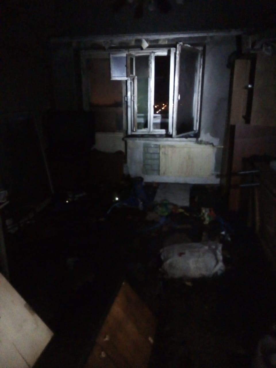 Фото из сгоревшей квартиры