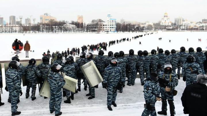 «Судимы за грабежи и разбои». Свердловская полиция — о криминальном прошлом задержанных на акциях протеста