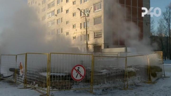 «Ожоговый шок»: в Рыбинске молодой мужчина обварился в кипятке на теплосетях