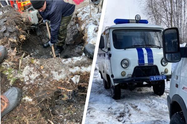 Тело нашли в трех километрах от дома в Уяре, за карьером и мусорной свалкой, в лесу