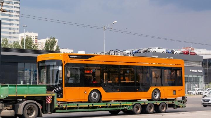 В Самару привезли троллейбусы с кондиционерами