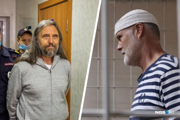 Сергей Тороп и Владимир Ведерников на избрании меры пресечения в новосибирском суде