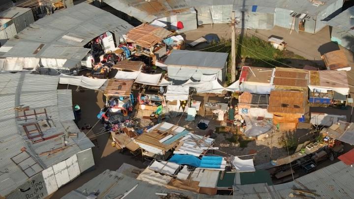 «Похож на трущобы»: самарец показал рынок в 15-м микрорайоне с высоты