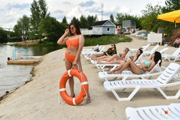В Екатеринбурге уже несколько дней стоит жара
