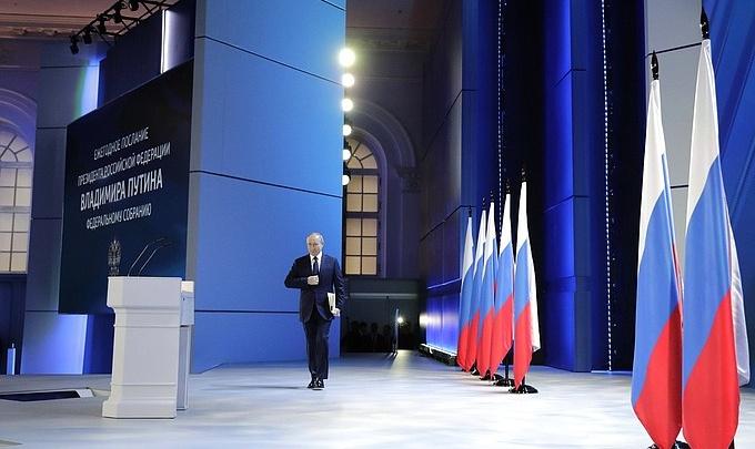 «Цепляют Россию то тут, то там без всяких причин»: полный текст послания Путина Федеральному собранию
