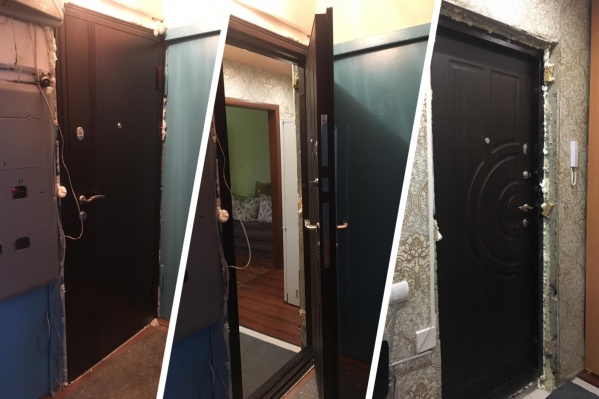 Так выглядит новая дверь