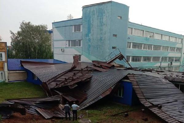 По Башкирии снова прошел ураган. На этот раз досталось Туймазам
