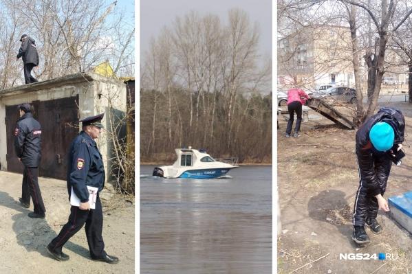 Волонтеры и полиция искали ребенка по всем окрестностям: и на земле, и в воде