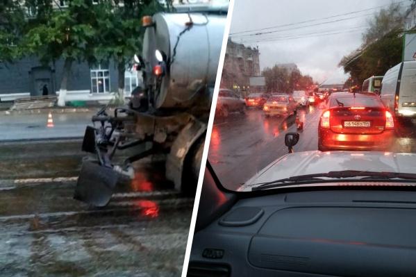 В этом году городские дороги начали ремонтировать позже