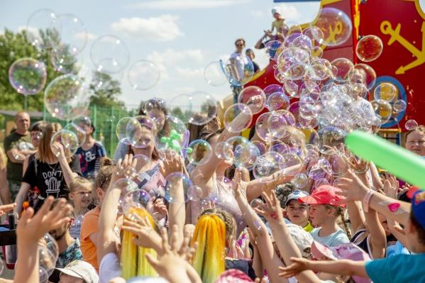 Жители и гости квартала повеселились от души!