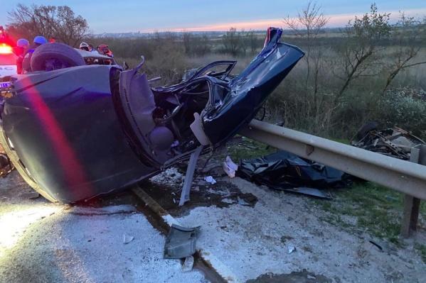Двадцатилетний водитель умер на месте