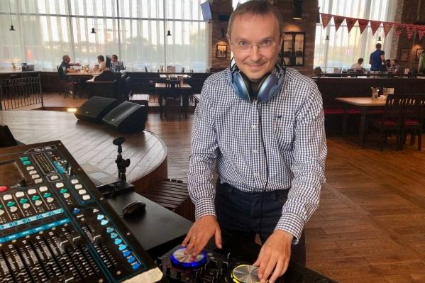 Виталий много лет увлекается созданием электронной музыки, но все-таки основная его работа связана с медициной