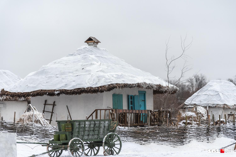 Этнокомплекс «Кумжа» стал одной большой декорацией к фильму