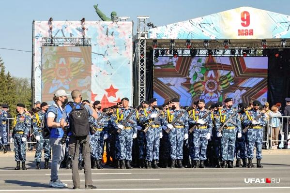 Фотограф UFA1.RU не мог пропустить столь масштабное и красочное событие
