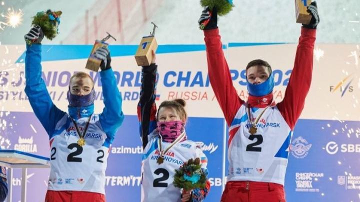 Российские фристайлисты завоевали золото в акробатике на чемпионате мира в Красноярске