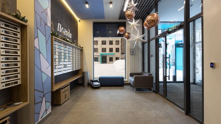 Новоселы экогорода «Погода» оценили дизайнерские холлы и входные группы