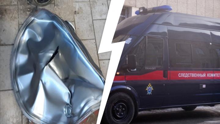 «Пострадавший лежит в коме». В автосалоне Hyundai на Высоцкого произошел взрыв, идет расследование
