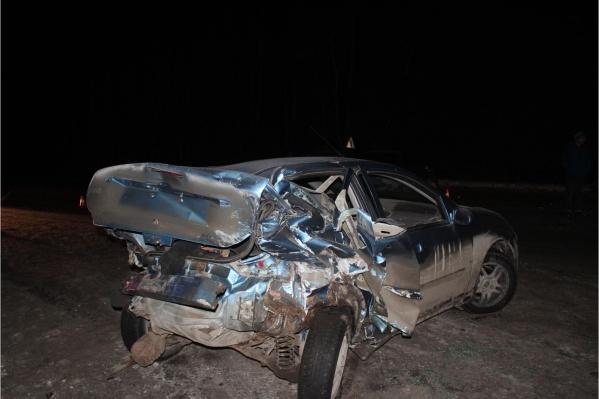 Автомобили в ДТП получили механические повреждения