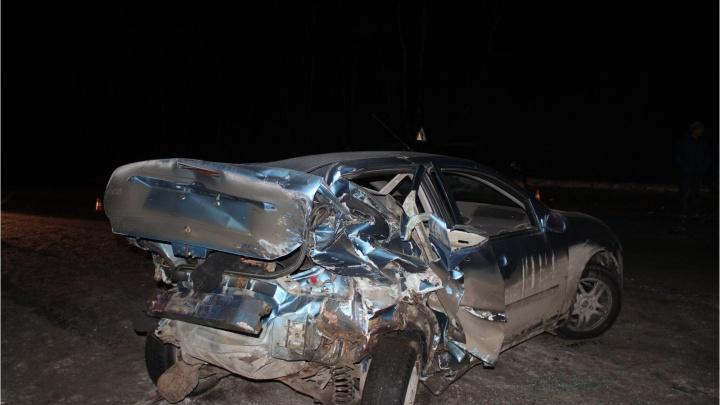 На трассе под Курганом произошло тройное ДТП, пострадал ребенок