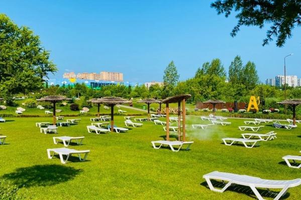 Парк-пляж был любимым местом отдыха у жителей Ветлужанки