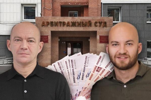 Суд пришел к выводу, что Артём Пичугин (справа) перечислял деньги на счет своего отца (слева)