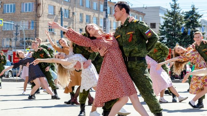 Возложение цветов, торжественное построение и вальс Победы: в ЮУрГУ встретили главный праздник страны
