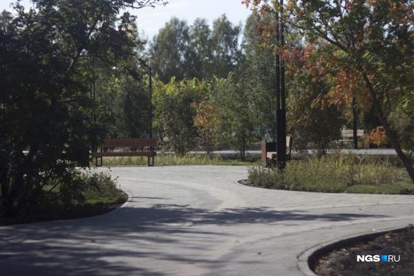 Дисперсный парк на Затулинке открылся осенью прошлого года. В этом году его дополнительно благоустроят