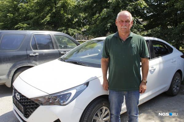 Михаил Попов решил обновить свой Hyundai Solaris