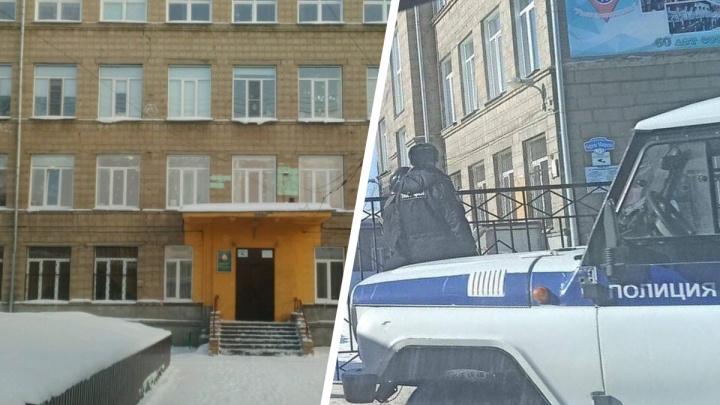 «Просят не поднимать панику»: в Новосибирске эвакуировали учеников гимназии №14