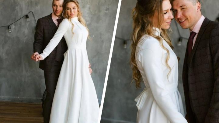 Новосибирская биатлонистка сыграла свадьбу — смотрим красивые снимки