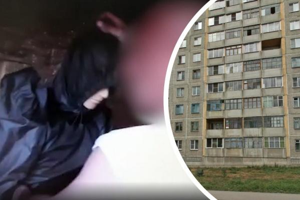 Новосибирец пытался сбросить свою супругу с 8-го этажа